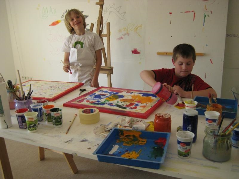 Kindermal-Workshop